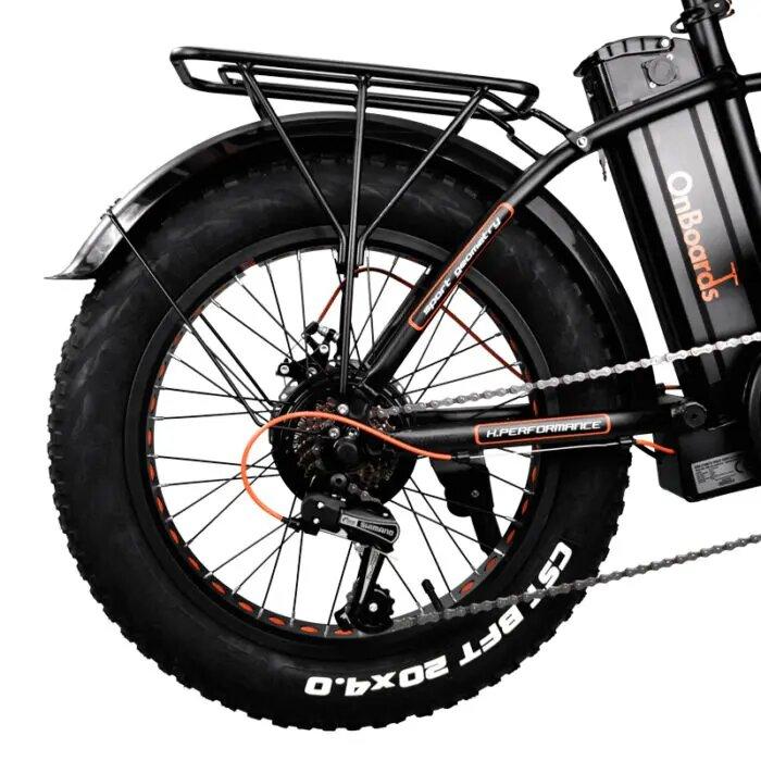 fat bike eléctrica plegable
